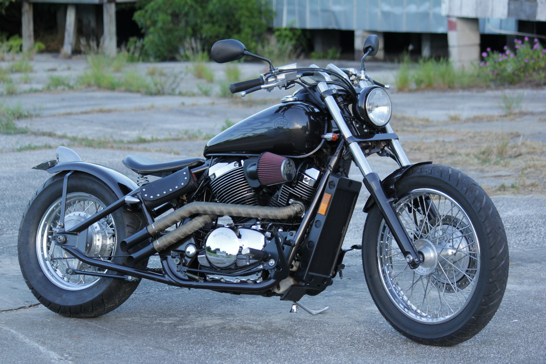 New News Bare Bone Rides 1996 Honda Shadow Motorcycle Picture
