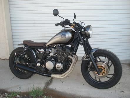 1982 Yamaha XJ750 Maxim Bulldog Brat