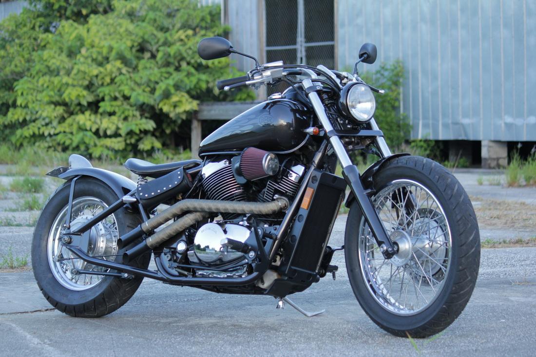 2001 Honda 750 Shadow Hard Tail Bobber Bare Bone Rides